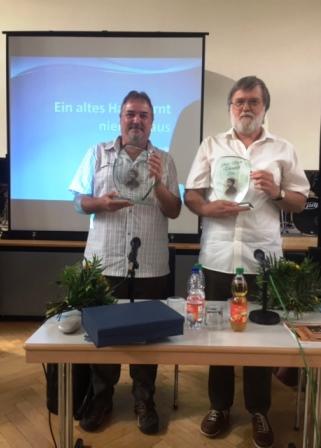 Stolze Preisträger - die Autoren