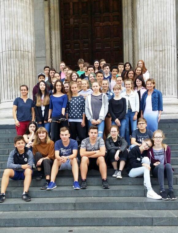 Die Leichtathletik-WM ging zu Ende, die IGS-Schüler kamen - London. Foto: H.F.