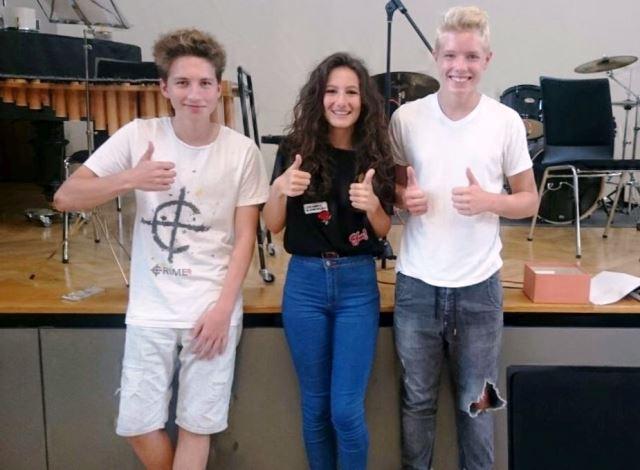 Luca, Maria und Etienne - die neuen Schülersprecher