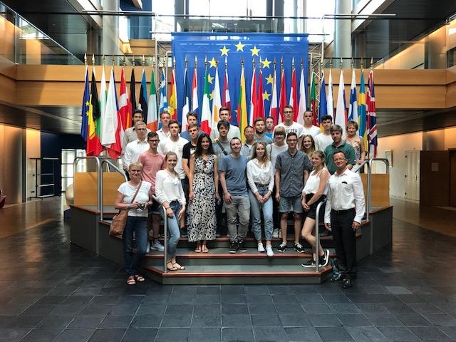 Zwischenstopp im Europaparlament