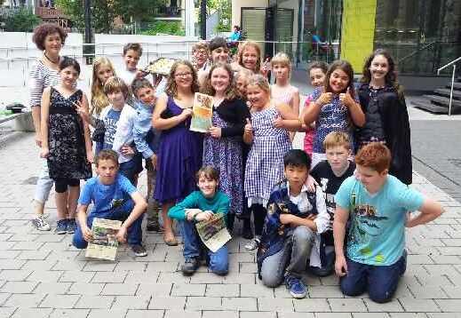 Klasse 5d - die Sieger im Märchenvorspielwettstreit