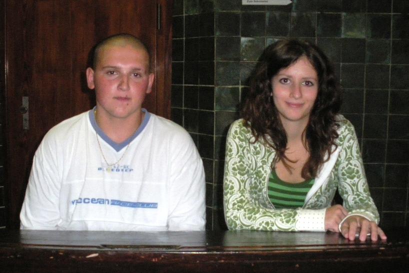 Alszbeta und Lukasz wohnen zur Zeit noch im IB - Jugendgästehaus