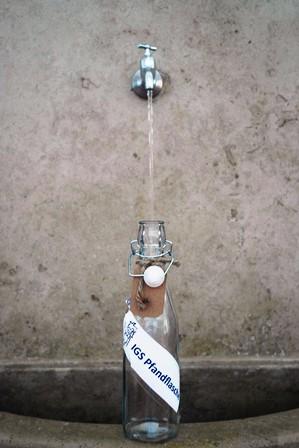 Wir müssen unbedingt Wasser sparen!