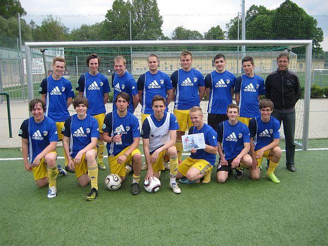 Platz 1 bis 3 : Unsere IGS-Fußballer