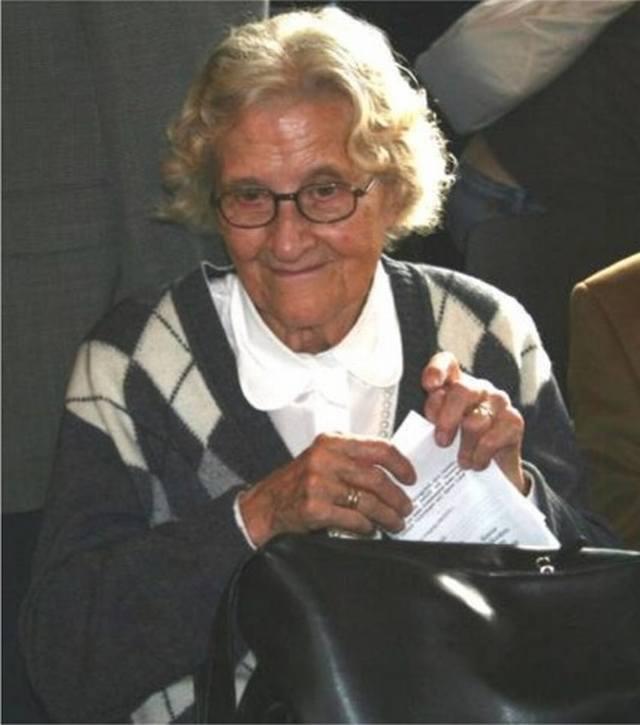 Frau Helga Eidmann, Urenkelin Grete Unreins