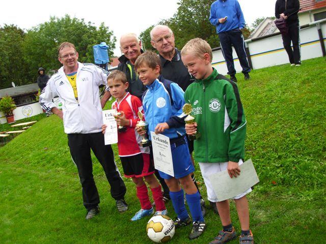 (Foto: RS) Manchmal regnet es doch bei den sportlichen Ereignissen von FK. Nur manchmal.