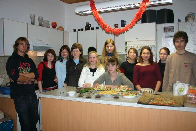 Unser Schülercafe Team