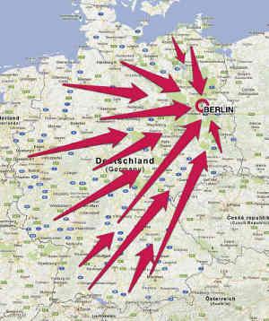 Von Freiburg nach Berlin.