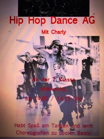 Hip Hop - eine neue AG mit Charly