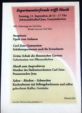 Zum 200. Geburtstag von Carl Zeiß