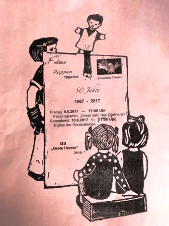 Ein besonderes Fest unter den Dächern der Grete-Unrein-Schule: Puppentheater seit 50 Jahren.