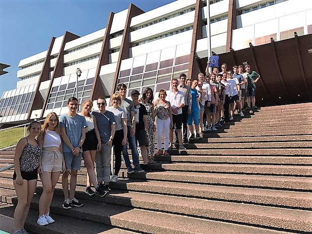 Nach dem Besuch im Europarat