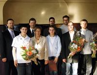 Die diesjährigen Preisträger des Grete-Unrein-Preises