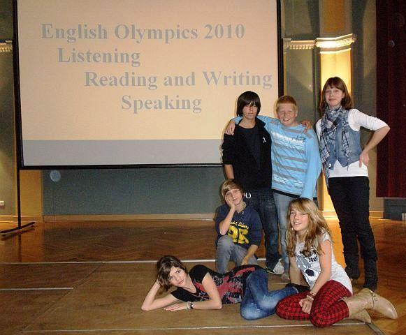 Die stolzen IGS-Teilnehmer 2010