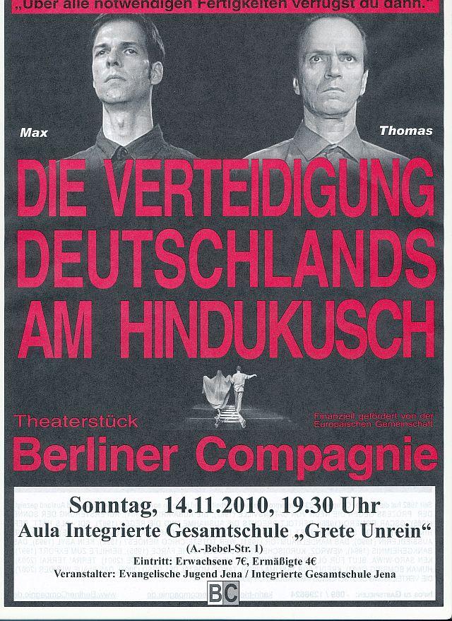 Theater für all am 14. November 2010
