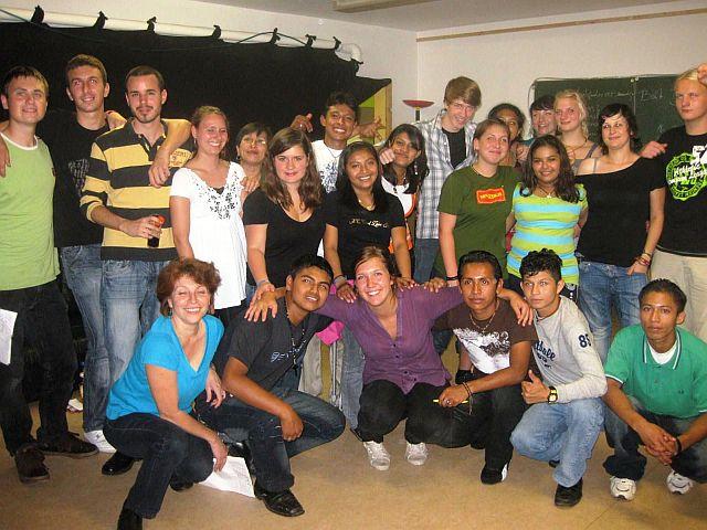 Feierten bis zur Abreise gemeinsam: Deutsche und nicaraguanische Freunde