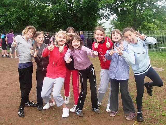 Stimmung war bestens auf dem Sportplatz in Lobeda