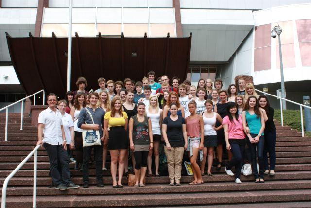 Teilnehmer der Studienfahrt 2012 .