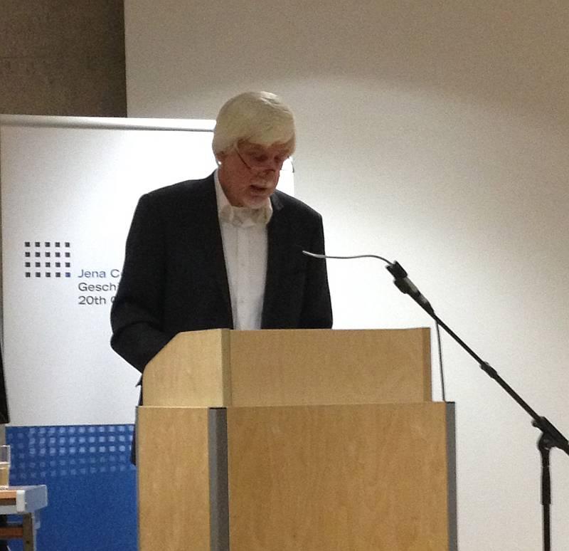 Volker Ullrich während seines Einführungsvortrages